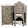 bureau artisanat marocain location chaise arriere