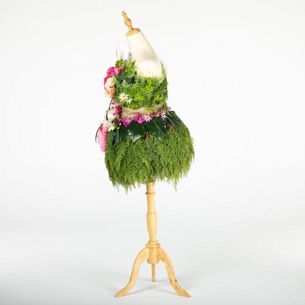DE030 mannequin fleuri location vue