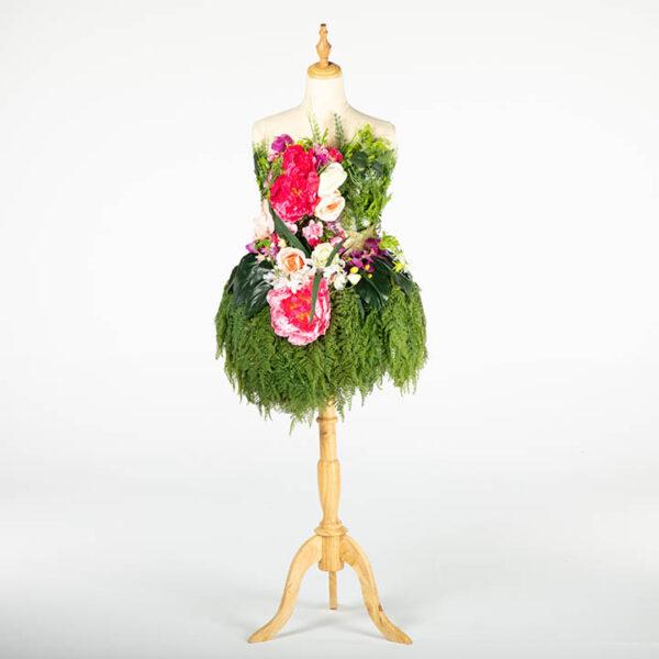 DE030 mannequin fleuri location vue large