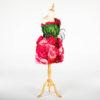 DE031 mannequin fleuri rouge location