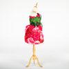 DE031 mannequin fleuri rouge location cote design