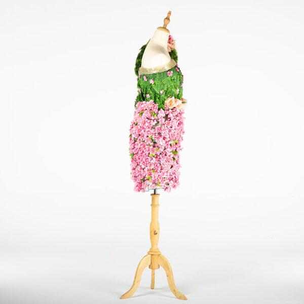 de032 mannequin fleuri rose location cote design