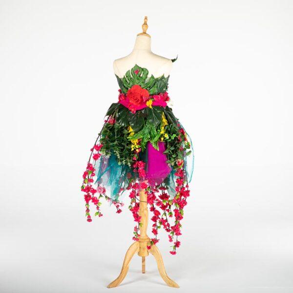 de033 mannequin fleuri bouquet location arriere