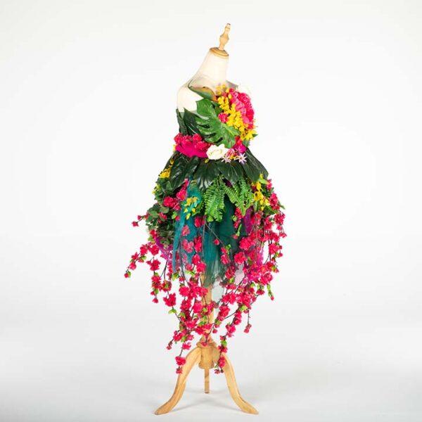 de033 mannequin fleuri bouquet location cote