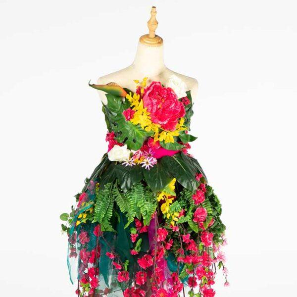 de033 mannequin fleuri bouquet location zoom