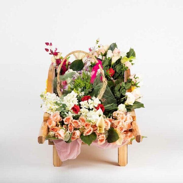 de036 charette fleurie arriere
