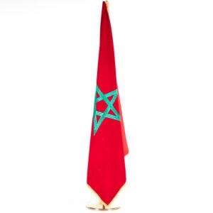 dm002 drapeau maroc hauteur ajustable location