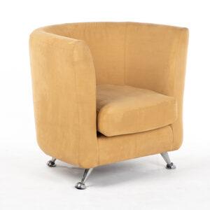 fauteuil cabriolet tissu marron location