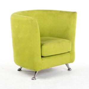 fauteuil cabriolet tissu vert location