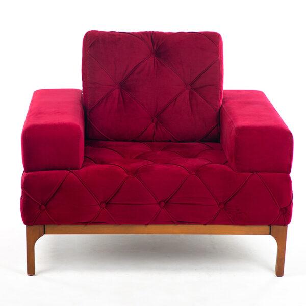 fauteuil 1 place salon lisa face location