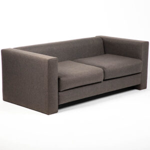 FT202GR fauteuil 2 places tissu gris location