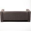 FT202GR fauteuil 2 places tissu gris location arriere
