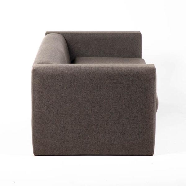 FT202GR fauteuil 2 places tissu gris location cote