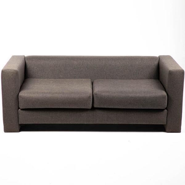 FT202GR fauteuil 2 places tissu gris location face
