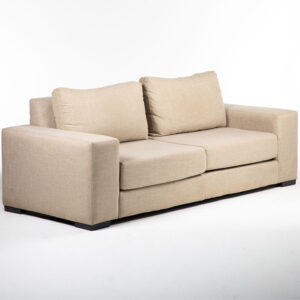 fauteuil 2 places tissu couleur kaki location
