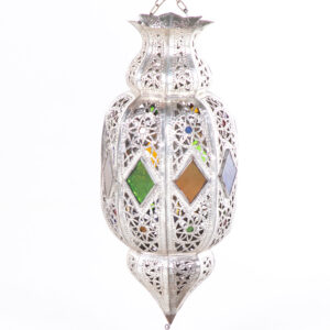 LB004GR lanterne artisanale marocaine location