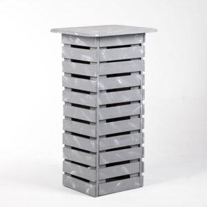 ta093bs table haute caisse bois tier