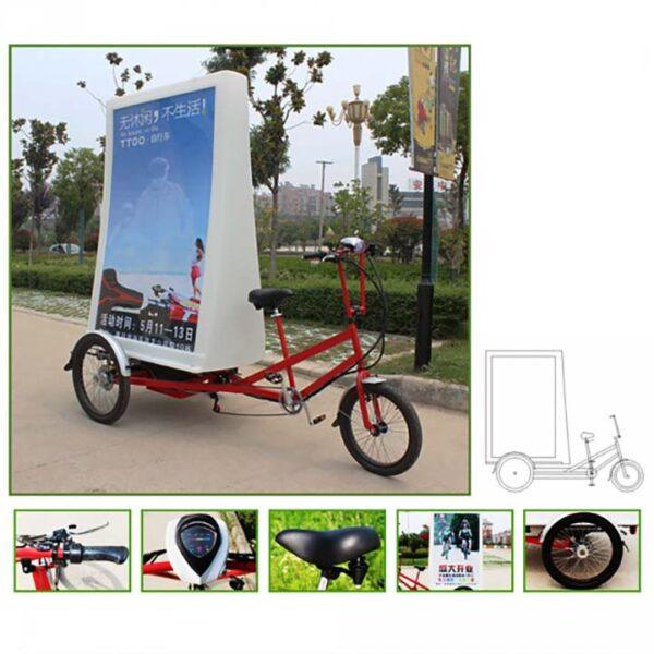 am002 mobi bike affichage 2 faces location