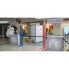 CA028bc Compoir Accueil avec tige pour signalétique situation bis