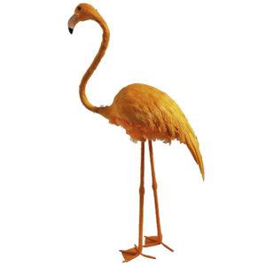de001 oiseau deco flamant jaune