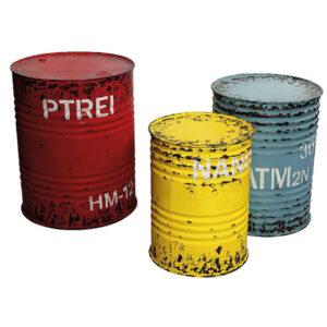 de024 futs metalliques deco rouge bleu jaune