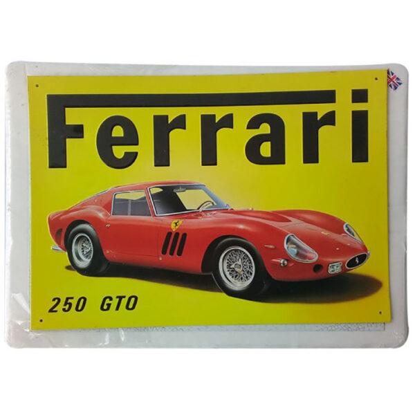 de052 plaque decorative voiture de collection