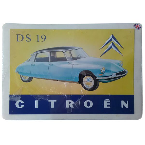 de053 plaque decorative voiture de collection