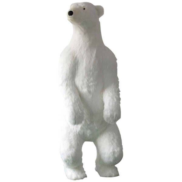 ours blanc déco hiver noël location