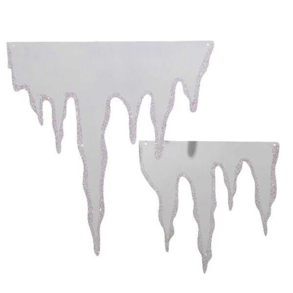 glace déco hiver noël location
