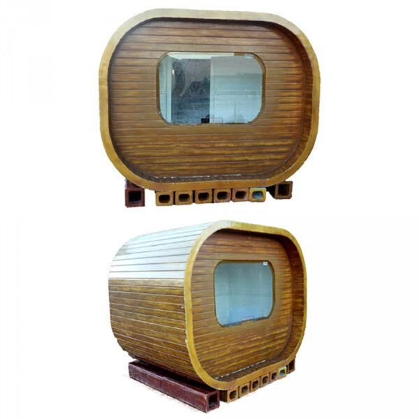 de076 kiosque en resine bois