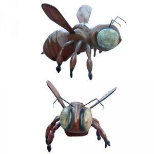 de082 abeille geante en resine
