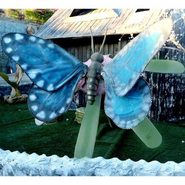 DE093 papillon géant automate location maroc