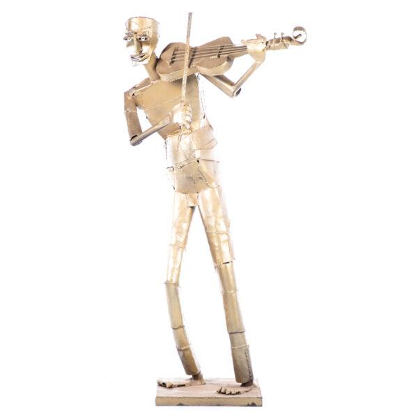 de091 sculpture violoniste