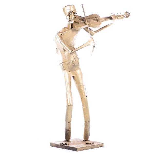 de091 sculpture violoniste face