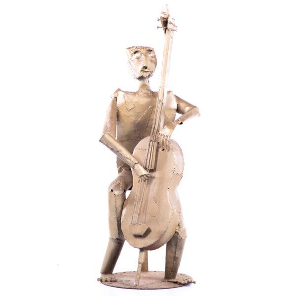 de092 sculpture violoniste