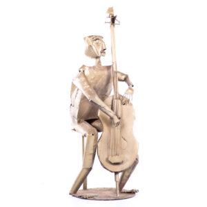 de092 sculpture violoniste design
