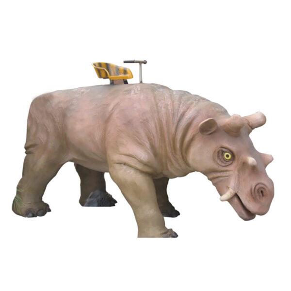 de131 rhinoceros ride mouvement avec la tete