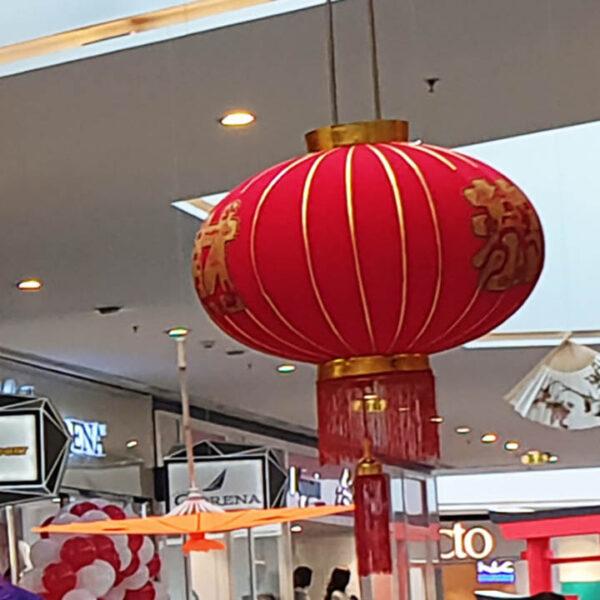 de151 lanternes rouge taille moyenne location