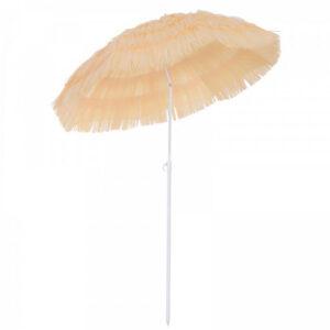 de161 parasol de jardin imitation raphia beige location