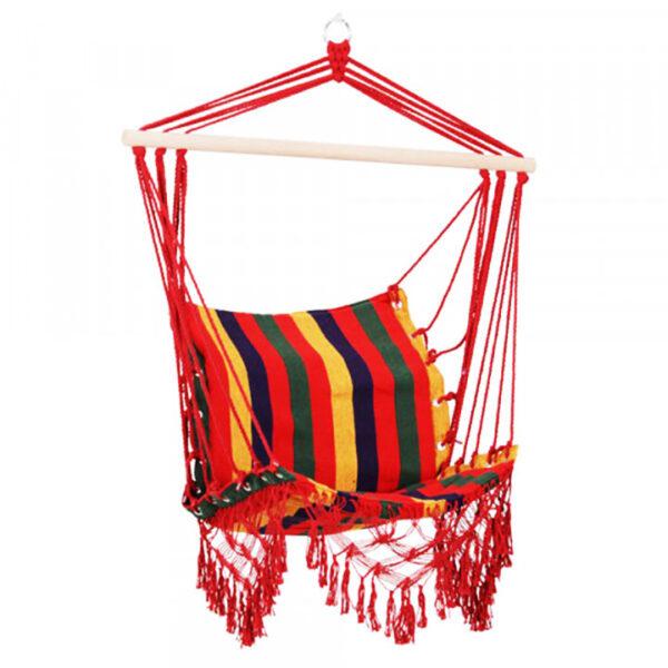 de162 chaise suspendue hamac voyage multicolore location