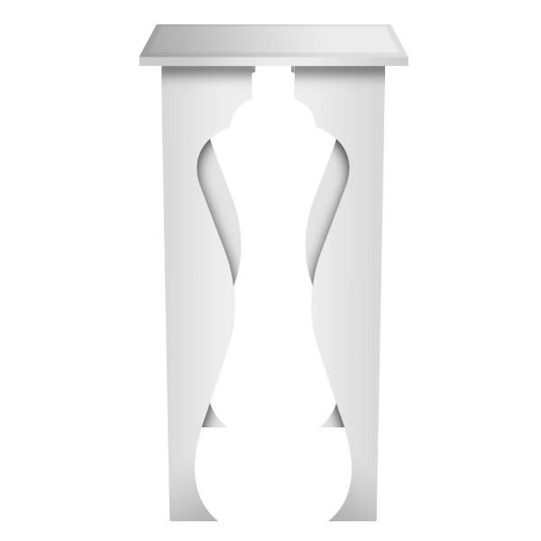 ta005 table baroque structure metallique