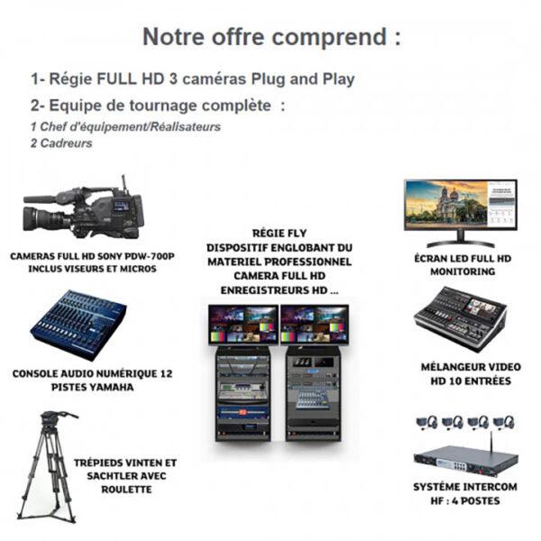 tk004 prestation de captation audiovisuelle pack