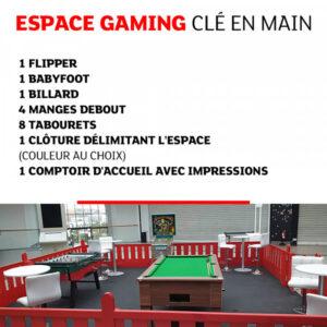 tk007 espace gaming cle en main